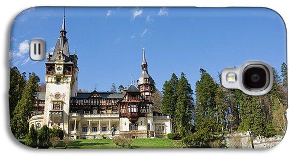 Peles Castle, Sinaia, Carpathian Galaxy S4 Case by Martin Zwick