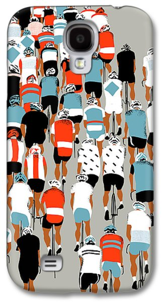Peloton Galaxy S4 Case by Eliza Southwood