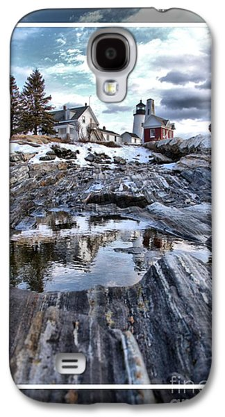 Midcoast Galaxy S4 Cases - Pemaquid Lighthouse Galaxy S4 Case by Victoria  Dauphinee