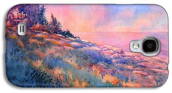 Maine Paintings Galaxy S4 Cases - Pemaquid Rocks Galaxy S4 Case by Virgil Carter