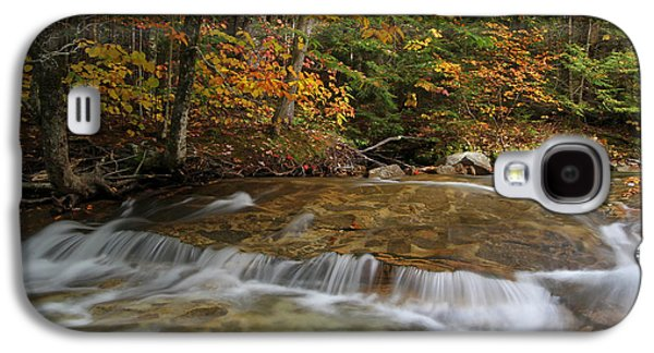 Beautiful Creek Galaxy S4 Cases - Pemigewasset River Cascades in Autumn Galaxy S4 Case by Juergen Roth