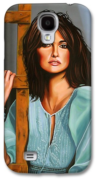 Penelope Cruz Galaxy S4 Case by Paul Meijering