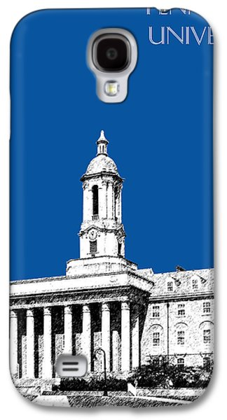 Universities Digital Art Galaxy S4 Cases - Penn State University - Royal Blue Galaxy S4 Case by DB Artist