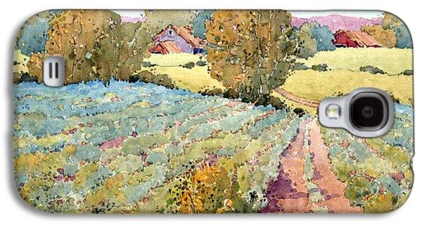 Pastoral Vineyards Galaxy S4 Cases - Pennsylvania Idyll Galaxy S4 Case by Joyce Hicks