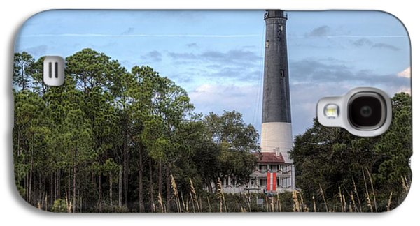Florida Panhandle Galaxy S4 Cases - Pensacola Lighthouse Galaxy S4 Case by JC Findley