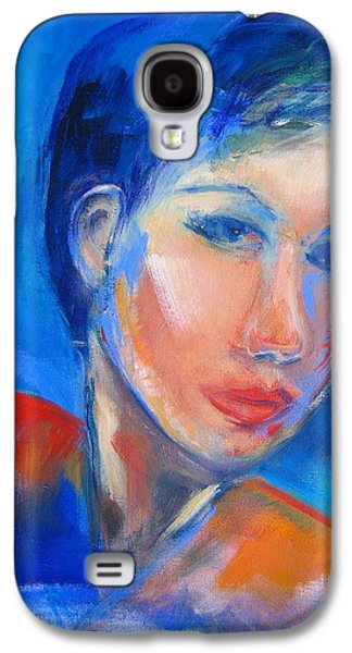 Pensive Galaxy S4 Case by Elise Palmigiani