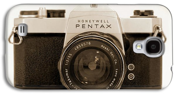 35mm Galaxy S4 Cases - Pentax Spotmatic IIa Camera Galaxy S4 Case by Mike McGlothlen