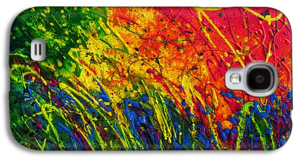 Pentecost Galaxy S4 Cases - Pentecost Acts 2 Galaxy S4 Case by Liz Tomlinson