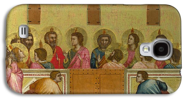 Pentecost Galaxy S4 Case by Giotto di Bondone