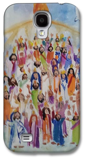 Pentecost Galaxy S4 Cases - Pentecost Galaxy S4 Case by Paula Stacy Adams