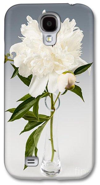 Peony Flower In Vase Galaxy S4 Case by Elena Elisseeva