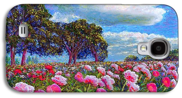 Peony Heaven Galaxy S4 Case by Jane Small