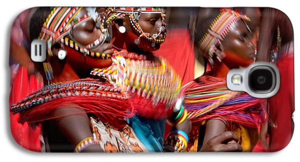 Young Man Photographs Galaxy S4 Cases - People Of The Samburu Tribe Galaxy S4 Case by Panoramic Images