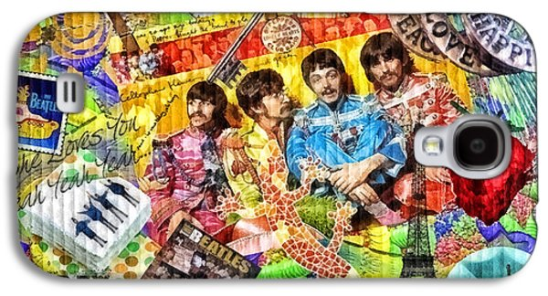 Beatles Galaxy S4 Cases - Pepperland Galaxy S4 Case by Mo T