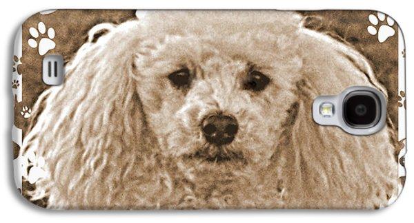 Dog Framed Prints Digital Art Galaxy S4 Cases - Peppie 1 Galaxy S4 Case by Lynn Griffin