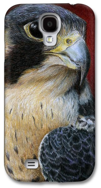 Peregrine Falcon Galaxy S4 Case by Pat Erickson