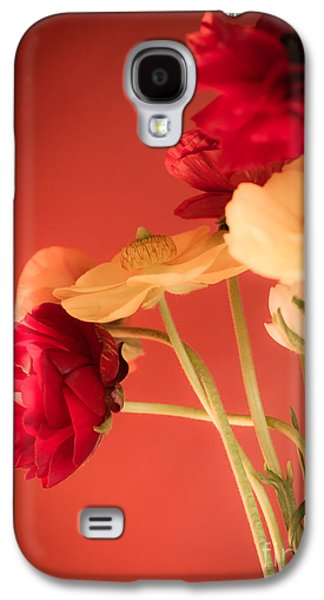 Cut Flowers Galaxy S4 Cases - Perfctly Poised Galaxy S4 Case by Jan Bickerton