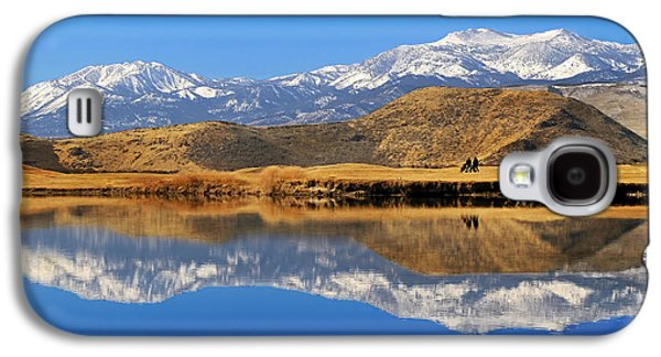 Sports Photographs Galaxy S4 Cases - Perfect Day For Golf  Galaxy S4 Case by Donna Kennedy