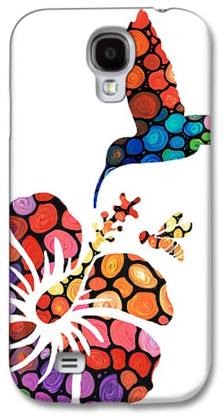 Hibiscus Galaxy S4 Cases - Perfect Harmony - Natures Sharing Art Galaxy S4 Case by Sharon Cummings