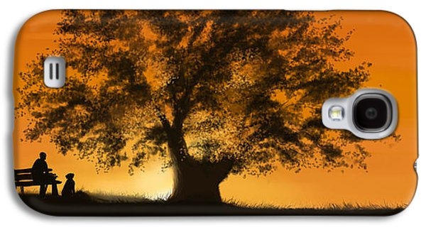 Sunset Prints Galaxy S4 Cases - Perfect moment Galaxy S4 Case by Veronica Minozzi
