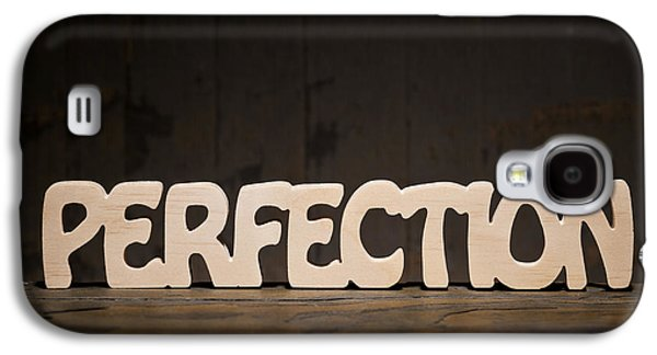 Positive Attitude Galaxy S4 Cases - Perfection Galaxy S4 Case by Donald  Erickson