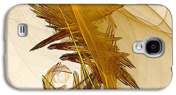 Modern Abstract Galaxy S4 Cases - Performance Abstract Art Galaxy S4 Case by Karin Kuhlmann