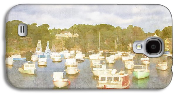 Recently Sold -  - Landscapes Photographs Galaxy S4 Cases - Perkins Cove Lobster Boats Maine Galaxy S4 Case by Carol Leigh