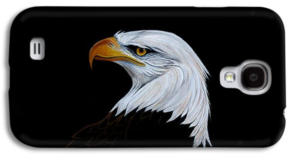 Eagle Paintings Galaxy S4 Cases - Perserverance Galaxy S4 Case by Adele Moscaritolo