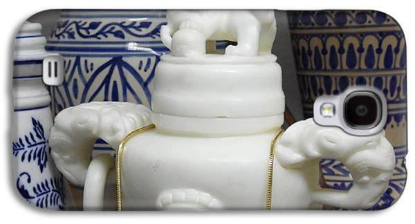 Persian Ceramics Galaxy S4 Cases - Persian Delight Galaxy S4 Case by James Dunn