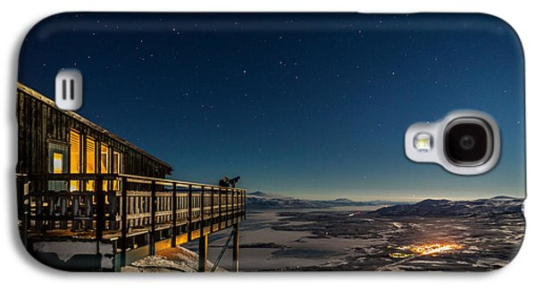 Temperature Galaxy S4 Cases - Person Viewing The Stars At The Abisko Galaxy S4 Case by Panoramic Images