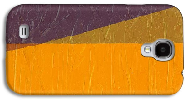 Orange Digital Art Galaxy S4 Cases - Perspective in Color Collage 11 Galaxy S4 Case by Michelle Calkins