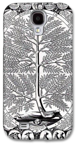 Genus Galaxy S4 Cases - Peruvian Bark or Jesuit Tree Galaxy S4 Case by Unknown