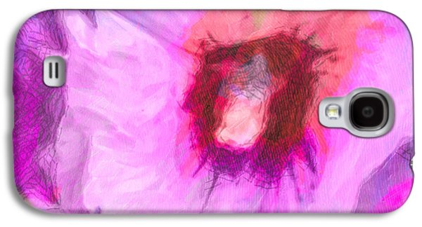 Nature Abstracts Galaxy S4 Cases - Petal Passion Galaxy S4 Case by Jo-Anne Gazo-McKim
