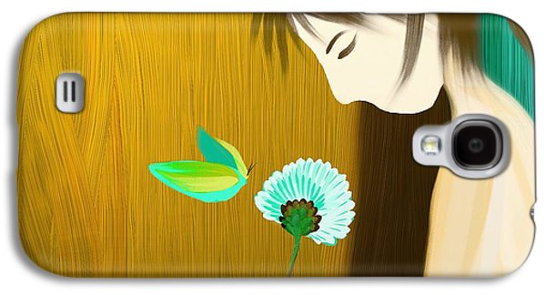 Animation Paintings Galaxy S4 Cases - Petals counting Galaxy S4 Case by Len YewHeng