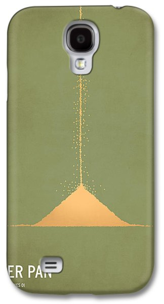 Modern Digital Art Galaxy S4 Cases - Peter Pan Galaxy S4 Case by Christian Jackson