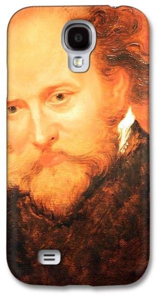 Peter Paul (1577-1640) Galaxy S4 Cases - Sir Peter Paul Rubens Self Portrait Galaxy S4 Case by Cora Wandel