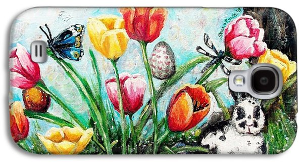 Peters Easter Garden Galaxy S4 Case by Shana Rowe Jackson