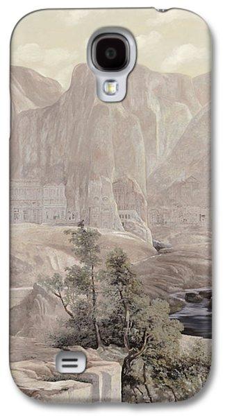 Petra Galaxy S4 Cases - Petra Galaxy S4 Case by Guido Borelli