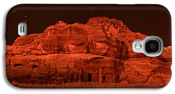 Nabatean Galaxy S4 Cases - Petra Nights Galaxy S4 Case by Stephen Stookey