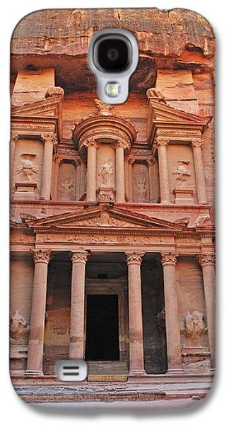 Petra - Jordan Galaxy S4 Cases - Petra Treasury Galaxy S4 Case by Tony Beck