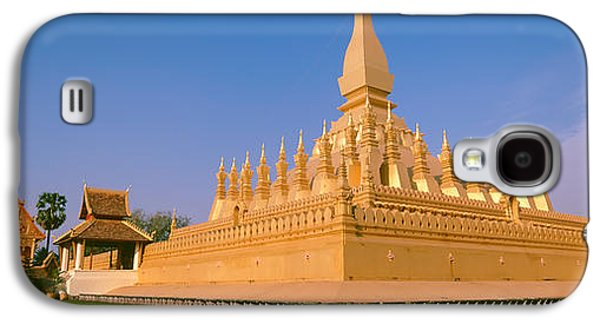 Reconstruction Galaxy S4 Cases - Pha That Luang Temple, Vientiane, Laos Galaxy S4 Case by Panoramic Images