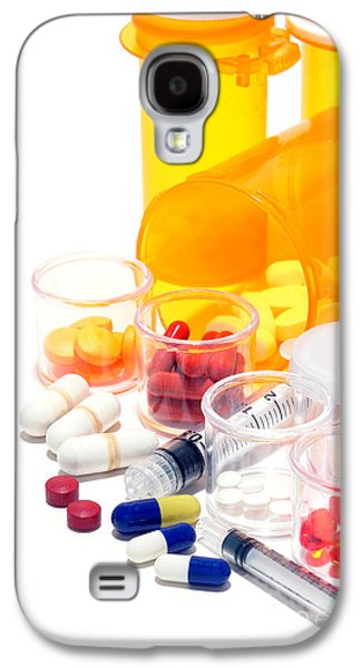 Pill Galaxy S4 Cases - Pharmacopoeia  Galaxy S4 Case by Olivier Le Queinec