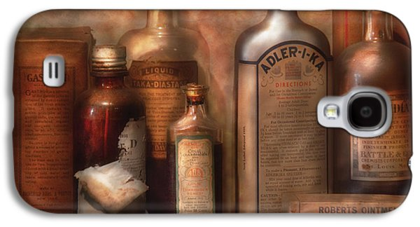 Doctor Photographs Galaxy S4 Cases - Pharmacy - Indigestion Remedies Galaxy S4 Case by Mike Savad