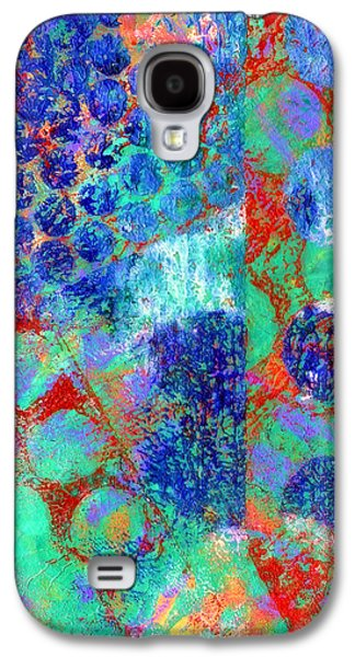 Emotion Mixed Media Galaxy S4 Cases - Phase series - Movement Galaxy S4 Case by Moon Stumpp