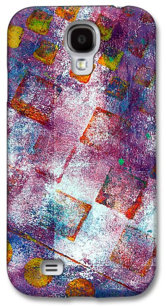 Emotion Mixed Media Galaxy S4 Cases - Phase series - Picking Up the Pieces Galaxy S4 Case by Moon Stumpp