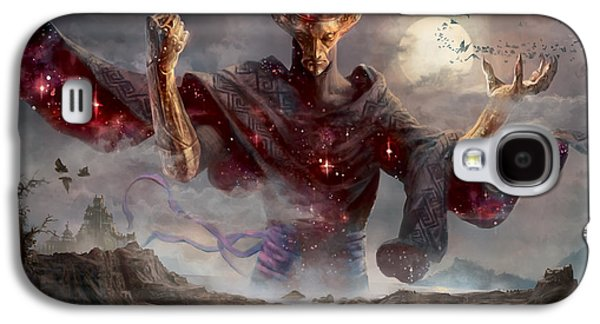 Gathering Galaxy S4 Cases - Phenax God of Deception Galaxy S4 Case by Ryan Barger