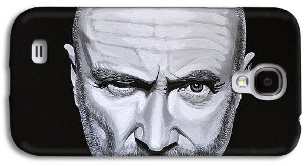 Soul Paintings Galaxy S4 Cases - Phil Collins Galaxy S4 Case by Paul Meijering