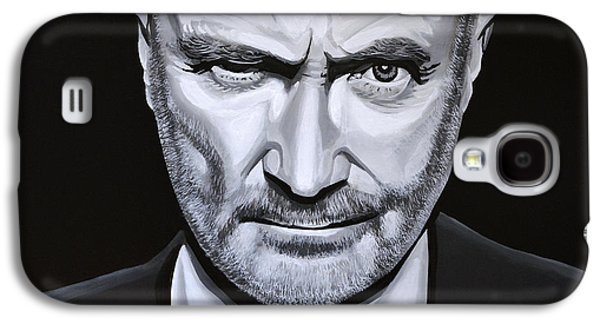 Gabriel Galaxy S4 Cases - Phil Collins Galaxy S4 Case by Paul Meijering