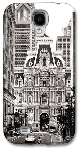 Phila Galaxy S4 Cases - Philadelphia City Hall Galaxy S4 Case by Olivier Le Queinec