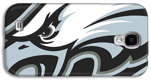 Eagle Mixed Media Galaxy S4 Cases - Philadelphia Eagles Football Galaxy S4 Case by Tony Rubino